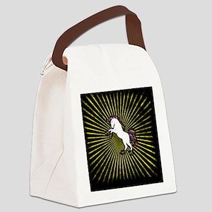 Cool unicorn Canvas Lunch Bag