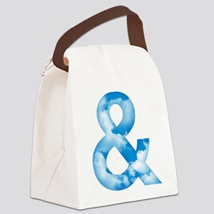 Cloud Ampersand Canvas Lunch Bag