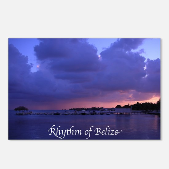 rhytymbelize Postcards (Package of 8)