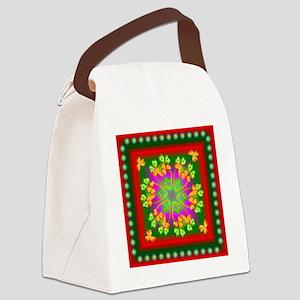 SPRINGSQ-1. Canvas Lunch Bag