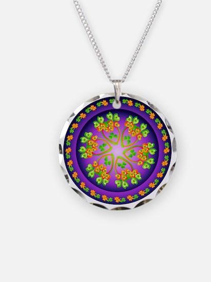 SPRING FLOWER. Necklace