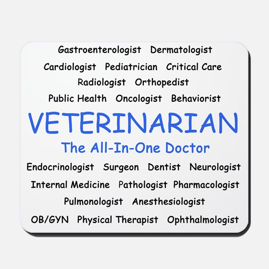 veterinarianrevised Mousepad