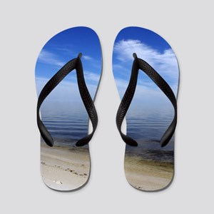 Where the World Ends signuature Flip Flops