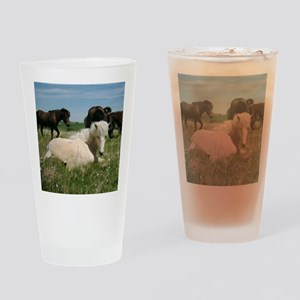 relaxing Drinking Glass
