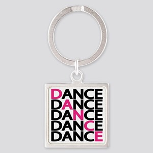 dance-times-five-2-color Square Keychain