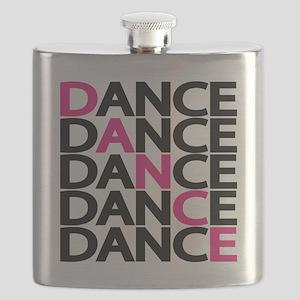 dance-times-five-2-color Flask