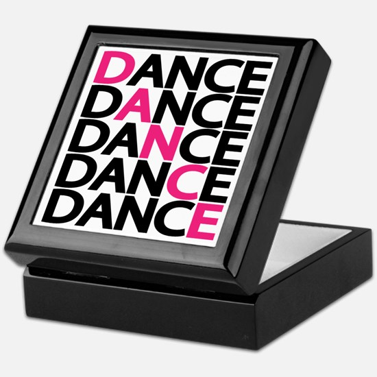 dance-times-five-2-color Keepsake Box