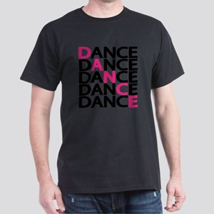dance-times-five-2-color Dark T-Shirt