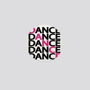 dance-times-five-2-color Mini Button