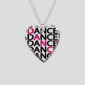 dance-times-five-2-color Necklace Heart Charm
