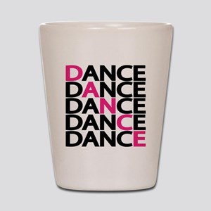 dance-times-five-2-color Shot Glass