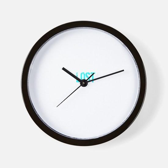 Lost Names -dk Wall Clock