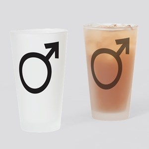 male Drinking Glass
