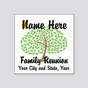 Customizable Family Reunion Tree Sticker
