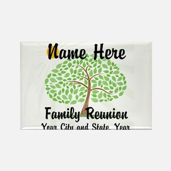 Customizable Family Reunion Tree Magnets