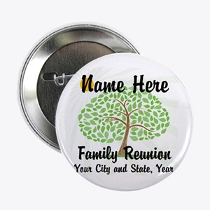 "Customizable Family Reunion Tree 2.25"" Button"