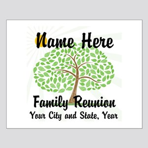 Customizable Family Reunion Tree Posters