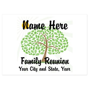 Family Tree Invitations And Announcements Cafepress