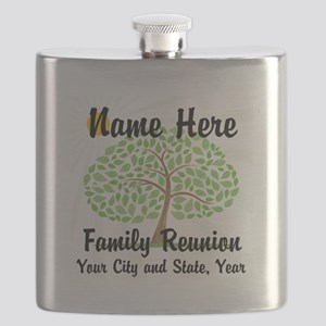 Customizable Family Reunion Tree Flask