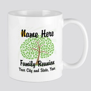 Customizable Family Reunion Tree Mugs