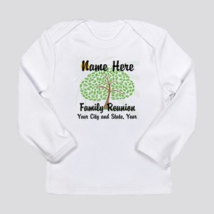 Customizable Family Reunion Tree Long Sleeve T-Shi