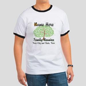Customizable Family Reunion Tree T-Shirt