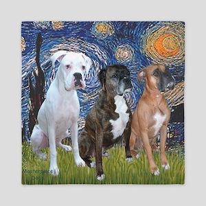 Brand-new Boxer Dog Bed & Bath - CafePress GN19