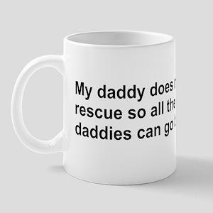 bumper_my_daddy2 Mug