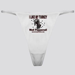 Turkey Peppered Classic Thong