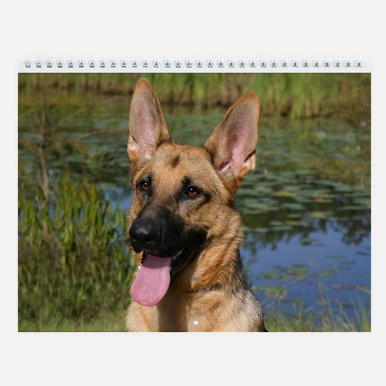 German Shepherd Wall Calendar