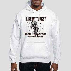Turkey Peppered Hooded Sweatshirt
