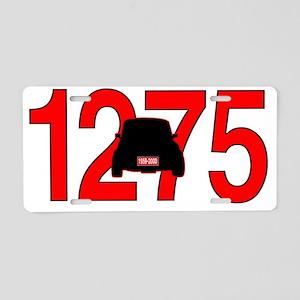 mini -1275 Aluminum License Plate