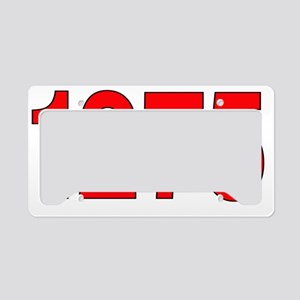 mini -1275 License Plate Holder