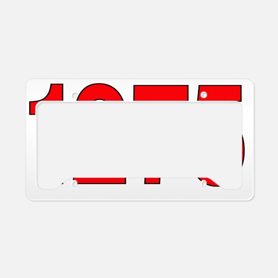 mini -1275 License Plate Holder