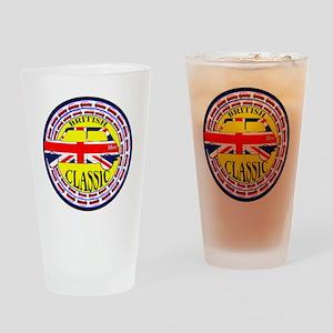 2-mini classic -flag Drinking Glass