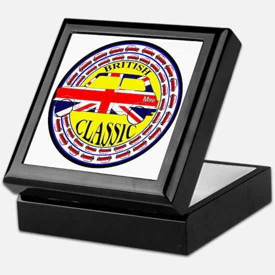 2-mini classic -flag Keepsake Box