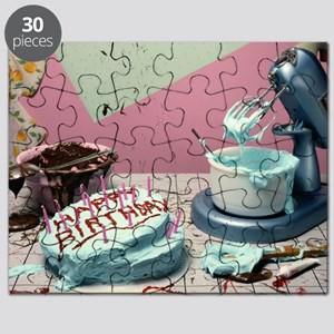 birthday mess cards Puzzle