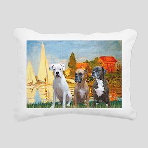 MP-Regatta - 3 Boxers Rectangular Canvas Pillow