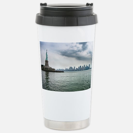 New York Stainless Steel Travel Mug