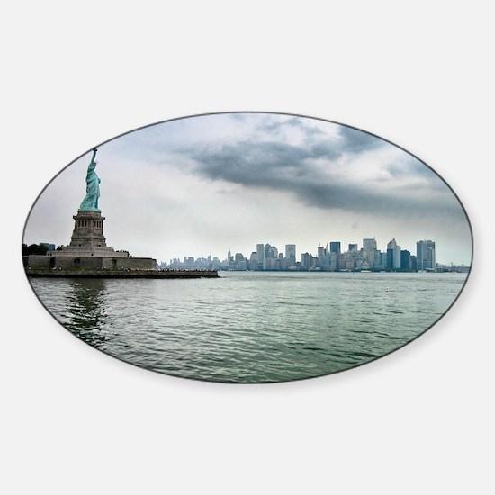 New York Sticker (Oval)