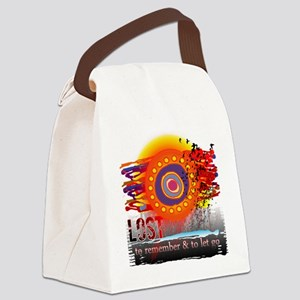 lost to remember and to let go co Canvas Lunch Bag