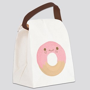 donut Canvas Lunch Bag