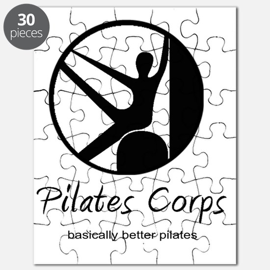 Pilates Corps w/tag in Black Puzzle