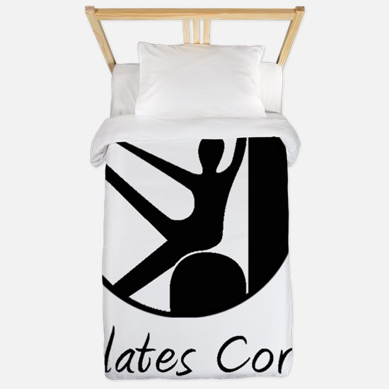 Pilates Corps w/tag in Black Twin Duvet