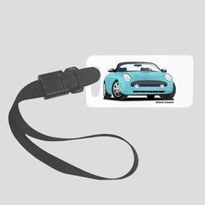 02 05_T_Bird_Front_Blue Small Luggage Tag