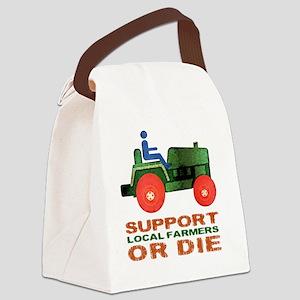 supportFarmersOrDie Canvas Lunch Bag