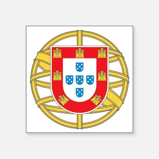 """portugal5 Square Sticker 3"""" x 3"""""""