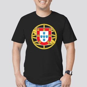 portugal5 Men's Fitted T-Shirt (dark)