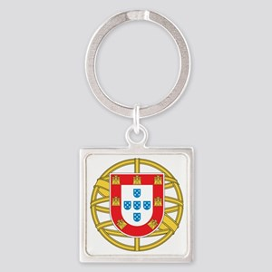portugal5 Square Keychain
