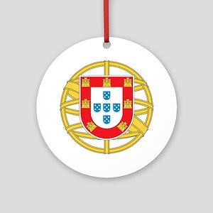 portugal5 Round Ornament
